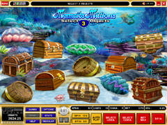 Play mermaid Millions at Zodiac Casino.